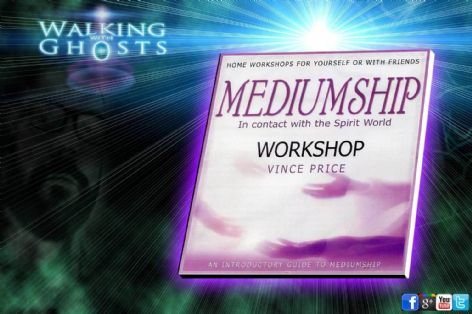 Mediumship Tutorial Workshop CD See & Talk To Ghosts Spirit the Dead